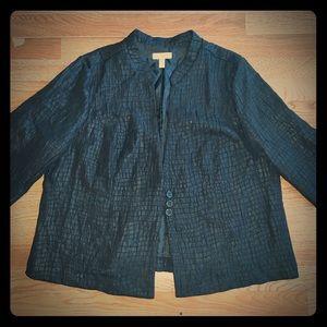 Plus size dressy jacket blazer